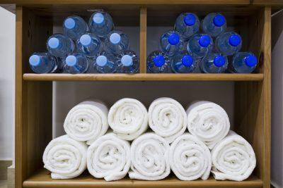 reczniki na silowni, Towels in Gym
